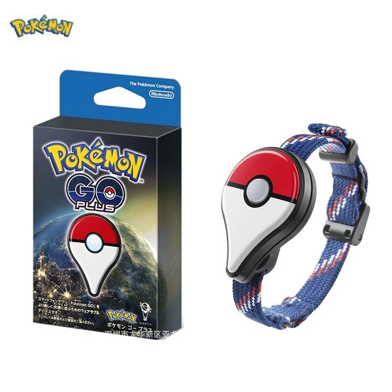 Pokemon go plus linkage device bracelet Catching Pokemon Figurine Pikachu action figure  Bluetooth connection sensor bracelet
